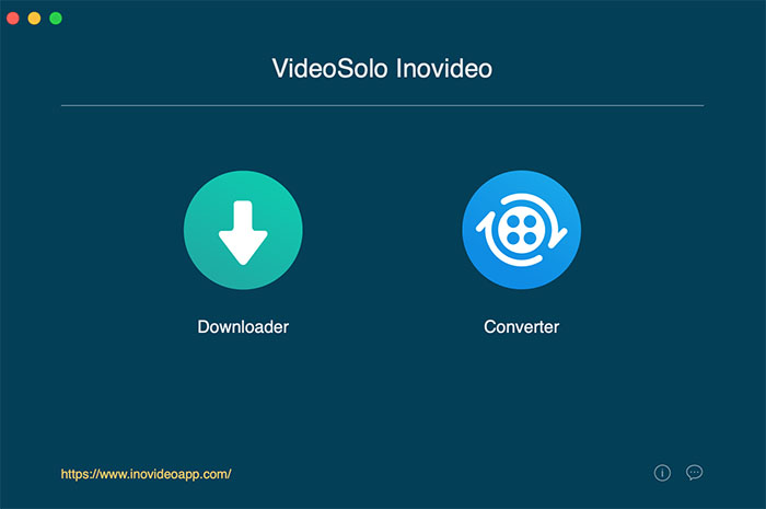 Main Interface of Reddit Video Downloader