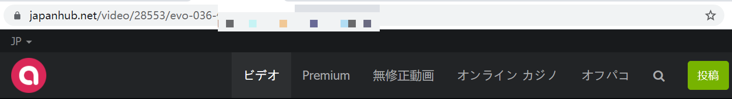 JapanHub動画の再生URLをコピー