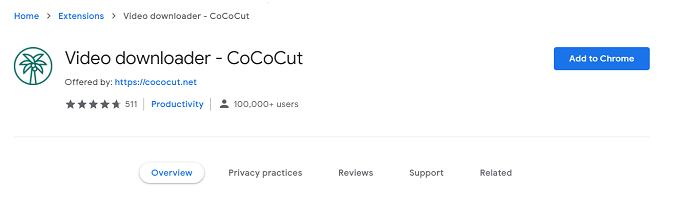 Video Downloader - CoCoCut