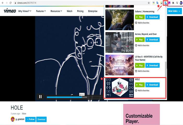 Vimeo Video Downloader